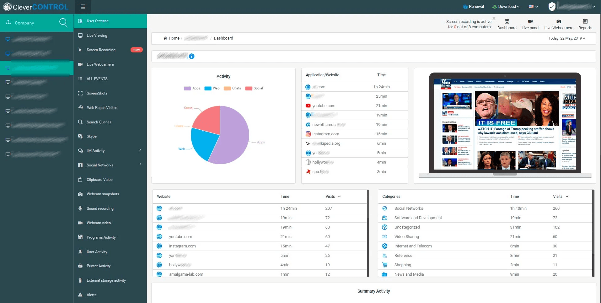 11 Eclectic Employee Monitoring Apps For Modern-Day Workplaces