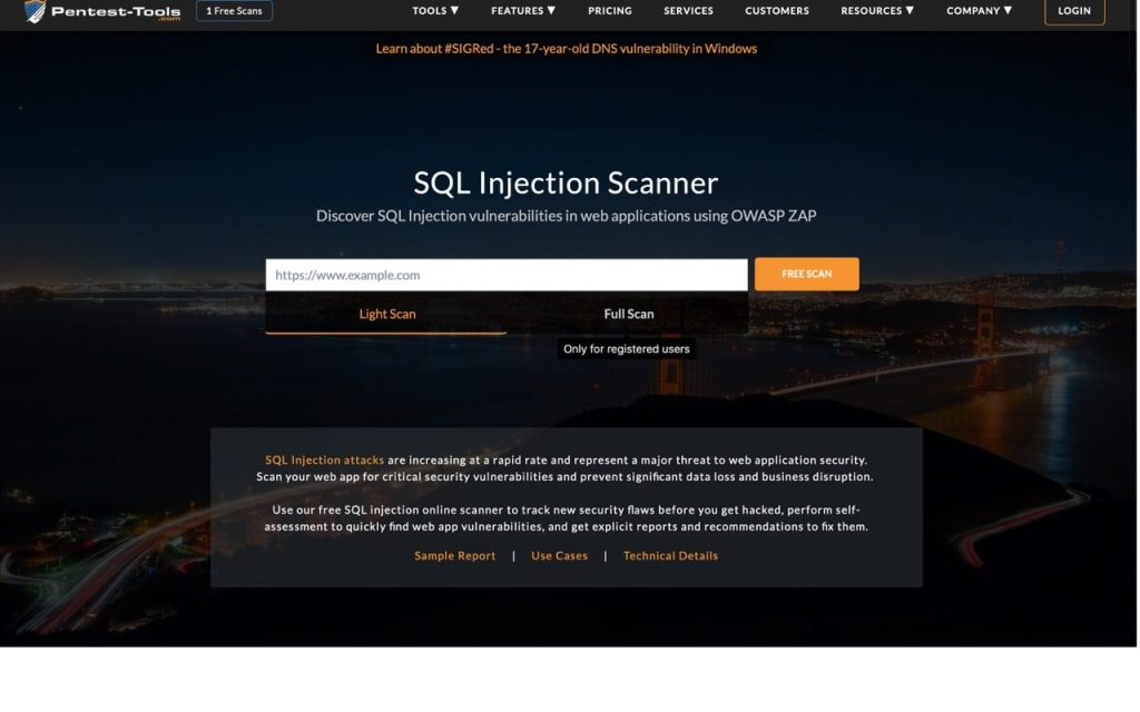 Sql Injection Test Site Online Tool