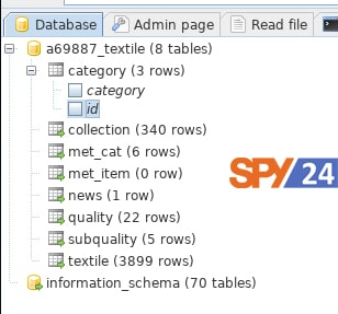 web site for SQL injection