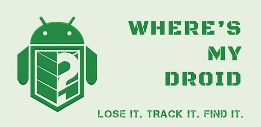 Where's My Droid Tracking App