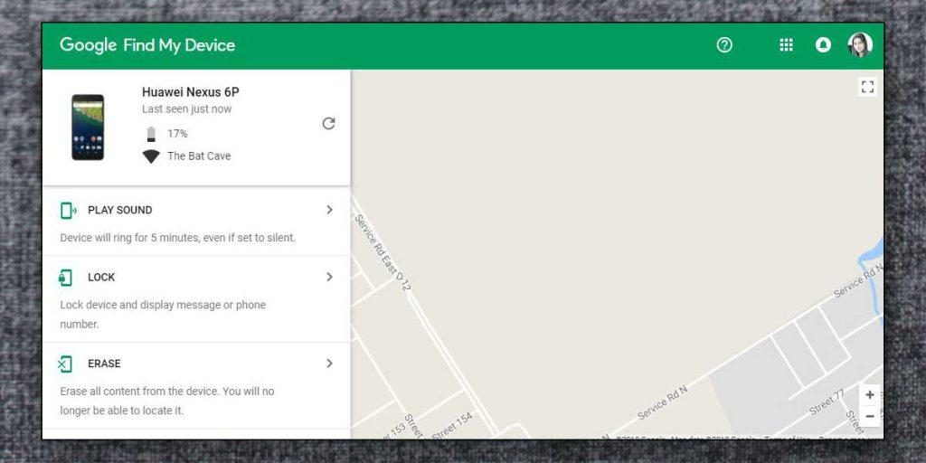 Lock your smartphone with Android Device Manager