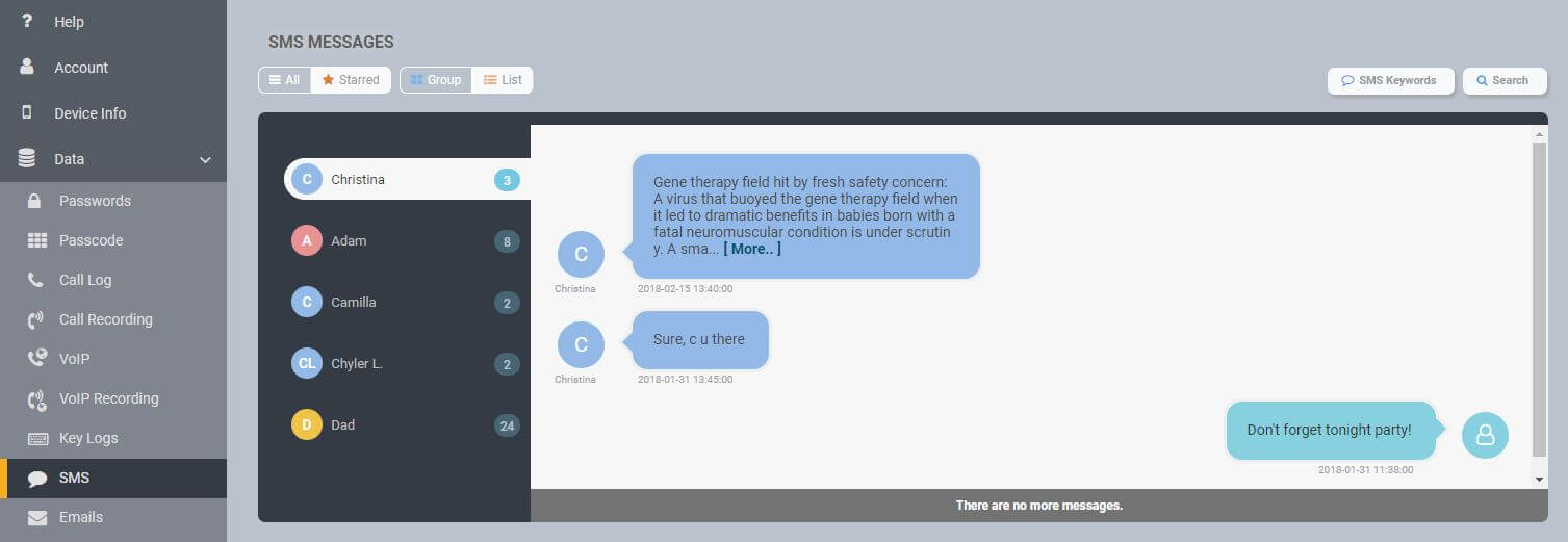 Top 11 Text Messages Spying Apps For 2020